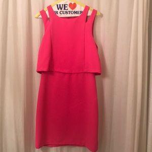 Hot pink boutique dress!